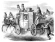 Leinwanddruck Bild - Stagecoach