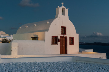 Chiesa a Santorini