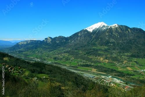 Papiers peints Alpes Vallée de l'Arve, Haute-Savoie