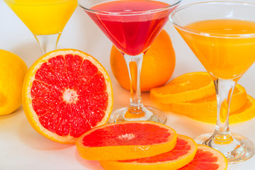 Fruit juice from citrus