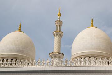 Sheikh Zayed Mosquée à Abu Dhabi