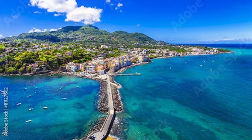 Aluminium Stad aan het water Ischia island - italian holidays