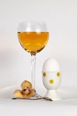 Still-life with an egg