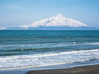 日本海オロロンラインより利尻島