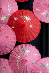 Colourful Asian Umbrellas