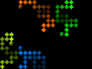 Snake, retro style game pixelated graphics