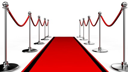 Red Carpet. 3D. Hall of Fame