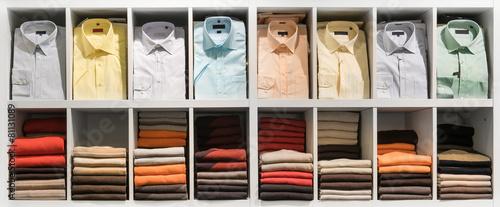Zdjęcia na płótnie, fototapety, obrazy : Clothes in the shop