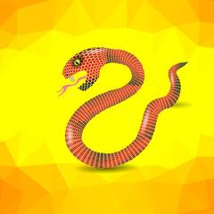 Red Snake.