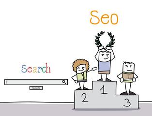 SEO - site bien référencé sur les moteurs de recherche