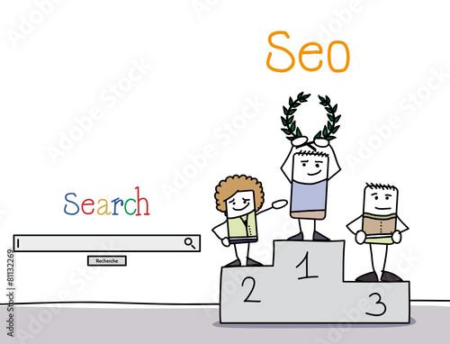 SEO - site bien référencé sur les moteurs de recherche - 81132269