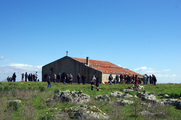 Chiesa campestre Monte Santo