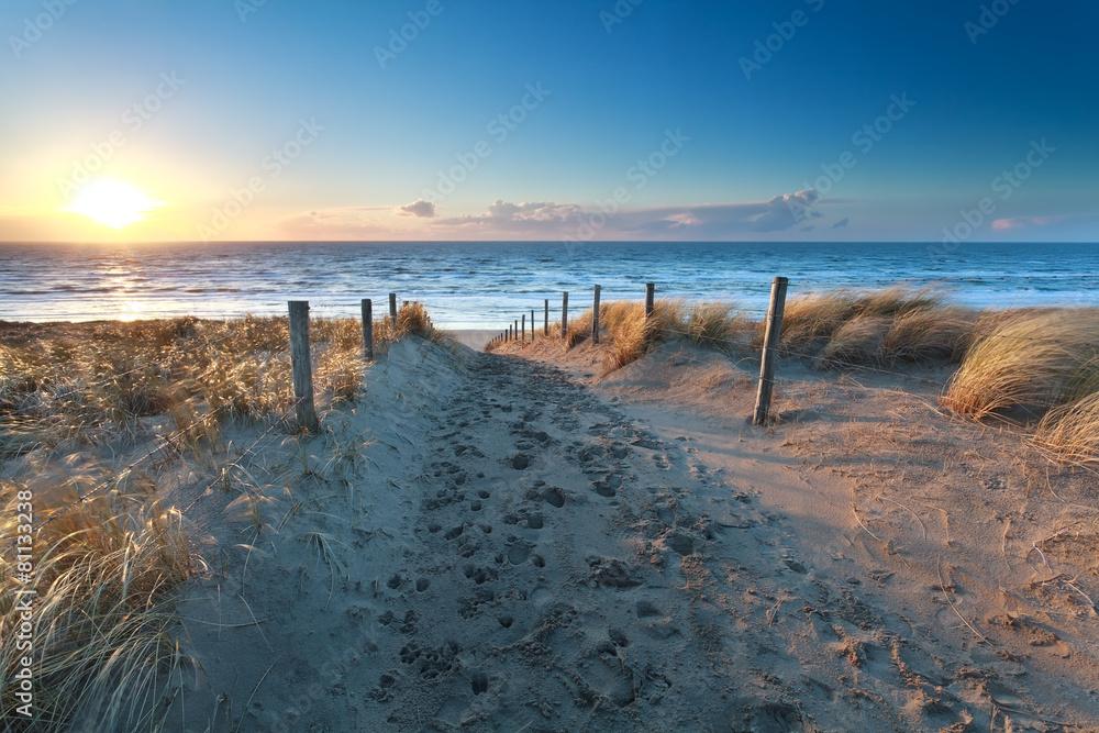 morze północne fala woda - powiększenie
