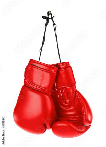 Hanging boxing gloves - 81133641