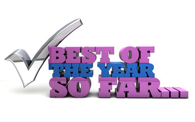Best of the year so far - rating and review