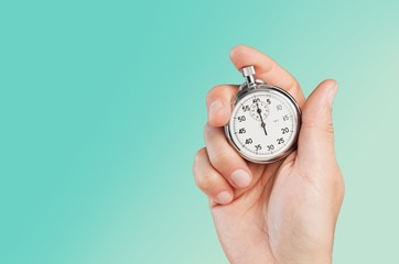 Alarm. Old chronometer