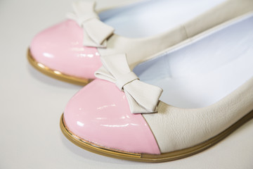Female ballet flats are on the shelf, the new collection