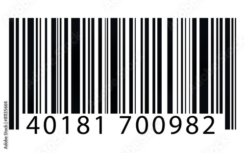 Leinwanddruck Bild Bar Code Identity Marketing Data Encryption Concept