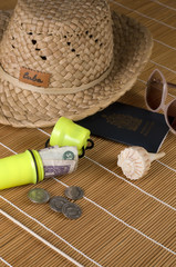 Day Trip Travel Kit with Yellow Money Holder