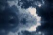 Dramatic dark clouds - 81136818