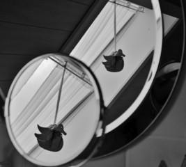 Spiegel im Badezimmer