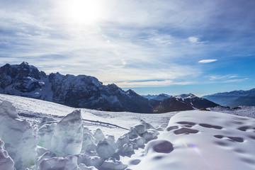 View of Dolomites