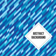 Abstract geometric background in blue colors.