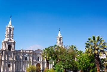 Arequipa Cathedral View