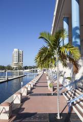 Walking in Tampa