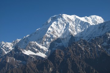Annapurna South, view from Mardi Himal High Camp