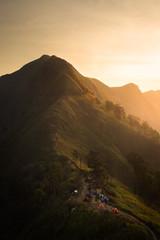 The sunrise at Kaochangpuek Thailand