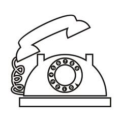 telephone, contour