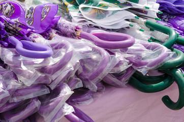 Plastic umbrellas