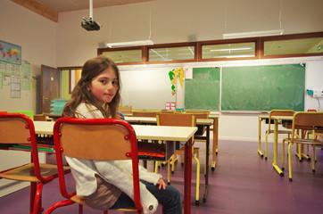 école primaire - salle de classe
