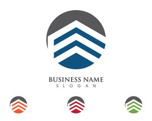 E Building property Logo Template 4