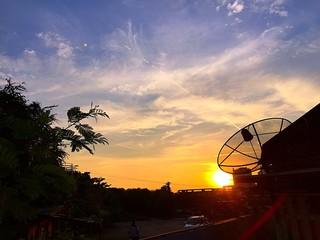 amazing sky and sunset.