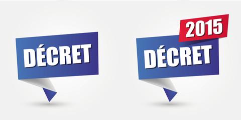 décret de loi - 2015