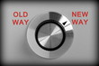 Old Way or New Way Control Switch - 81153662