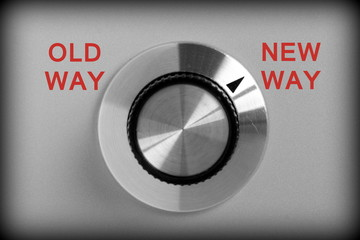 Old Way or New Way Control Switch