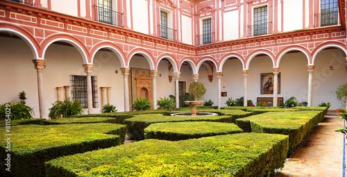 Museo de Bellas Artes, patio de los boj, Sevilla, España
