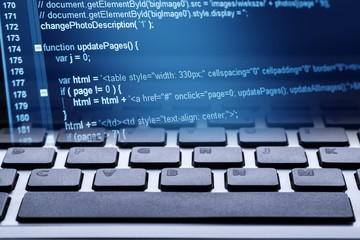 Abstract. Program code and computer keyboard
