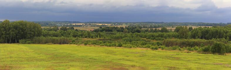 Landscape at Borodino battlefield, Mozhaysk, Moscow region