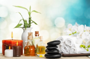 Aromatherapy. Spa products