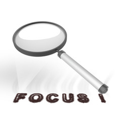 Vergrootglas Focus
