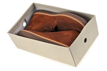 La boîte à chaussures
