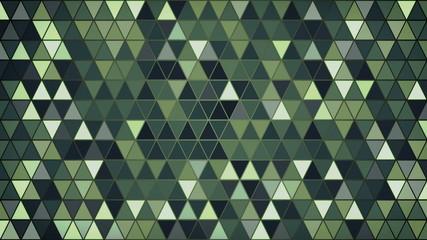 dark green triangles pattern loop background 4k (4096x2304)