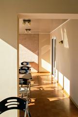 Cosy sunny coffee room