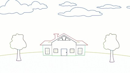 Flipping a House Animation