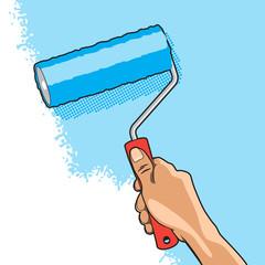 Hand Roller Brush
