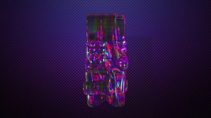 Rotating Oriental crystal goblins for VJ and stage